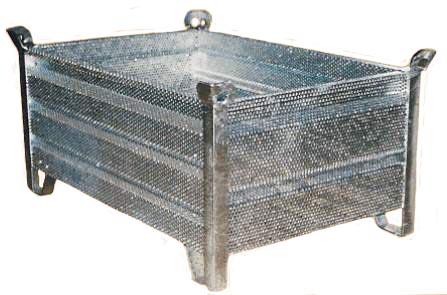 caisse palette metalique de trempage type mg. Black Bedroom Furniture Sets. Home Design Ideas