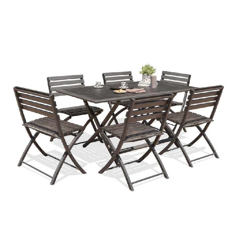 Tables pliables dcb garden achat vente de tables for Table 6 en 1