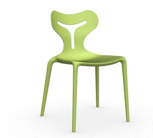 Calligaris chaise empilable area 51  verte claire