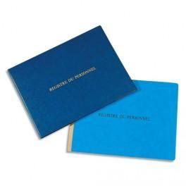 EXACOMPTA REGISTRE DES DÉLÉGUÉS DU PERSONNEL FORMAT 24X32CM, 30 PAGES 6614E