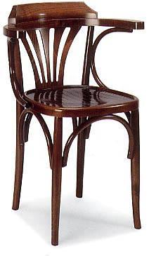 fauteuil bistrot assise et dos bois. Black Bedroom Furniture Sets. Home Design Ideas
