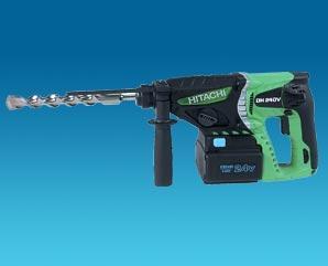 Hitachi power tools produits perforateur burineur - Perforateur sans fil hitachi ...