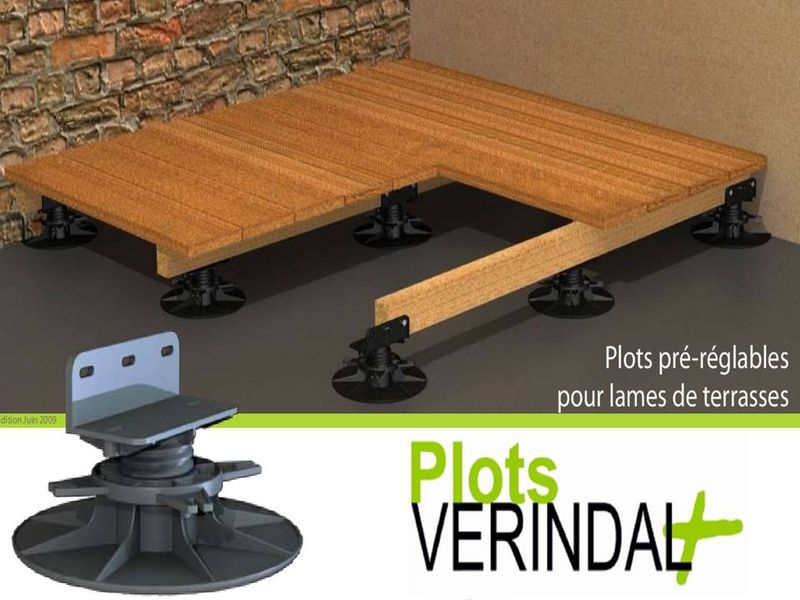 terrasse bois plot tube pvc diverses id es de conception de patio en bois pour. Black Bedroom Furniture Sets. Home Design Ideas