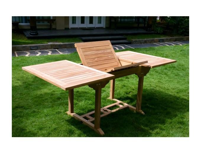 Table d 39 ext rieur wood en stock achat vente de table d for Exterieur stock