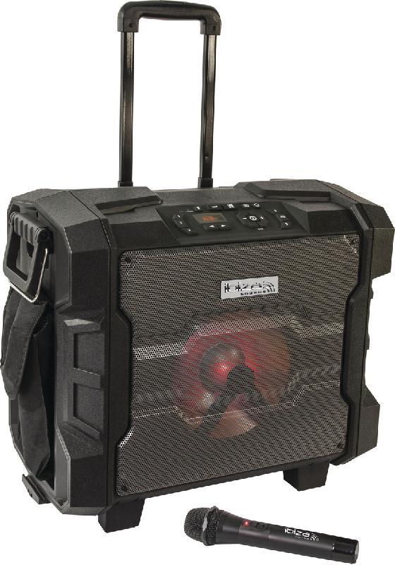 ENCEINTE NOMADE IBIZA SOUND 10 - 300W BT/NFC - FM - USB - MICRO UHF
