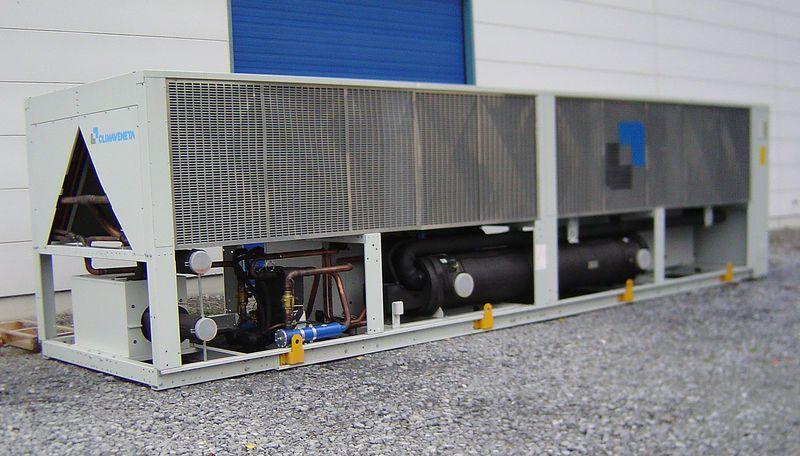 étude pour installation groupe frigorifique / eau glacée