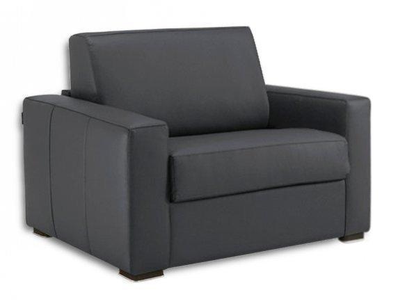 fauteuil dreamer cuir vachette convertible systeme rapido. Black Bedroom Furniture Sets. Home Design Ideas