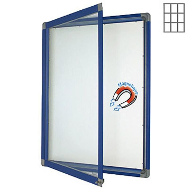 vitrine int rieur cadre bleu 9 feuilles a4 fond m tal comparer les prix de vitrine int rieur. Black Bedroom Furniture Sets. Home Design Ideas