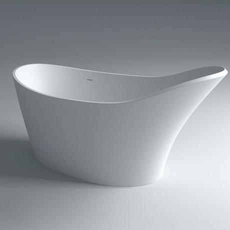 baignoire ilot en solid surface 170x78cm 39 classic 39 comparer les prix de baignoire ilot en solid. Black Bedroom Furniture Sets. Home Design Ideas
