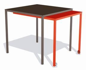 table coulissante
