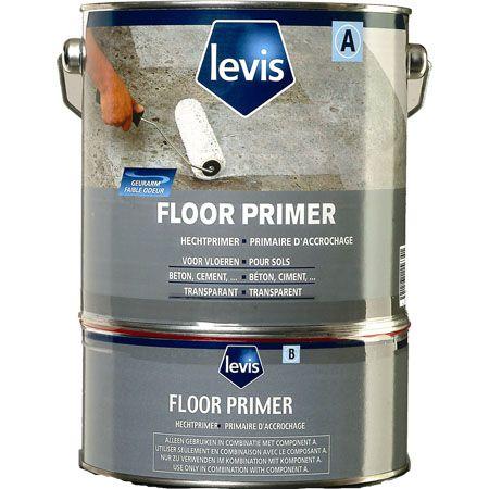 Floor primer - peinture de sol - akzo nobel decorative paints france - rendement : 7 à 9 m2/l