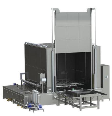 Machines de lavage par aspersion automatisées  sprayclean 180-w