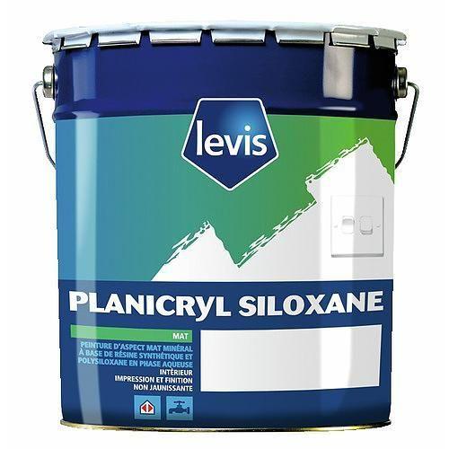 Peinture acrylique levis achat vente de peinture for Peinture plafond mat ou satine