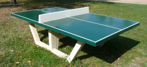Table ping pong exterieur beton table de lit - Table de ping pong exterieur pas cher ...