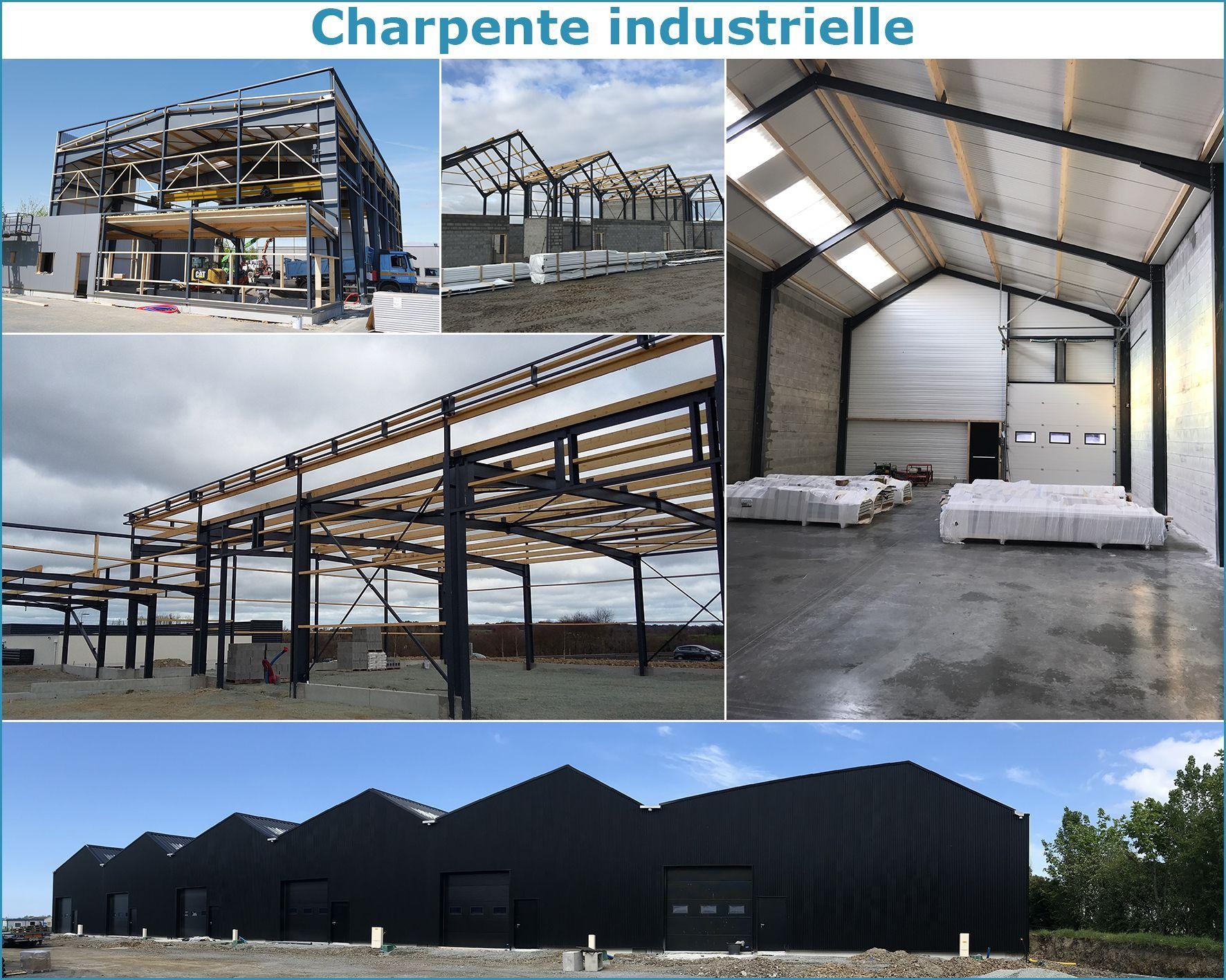 Charpente industrielle