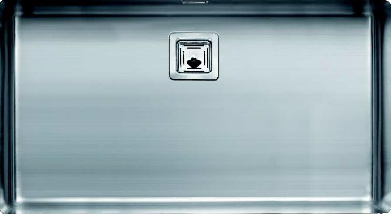 Sanizeo evier cuve inox sous plan smr 7140 inox lisse for Evier cuve inox