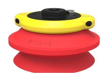 Ventouse ronde b110-2 silicone avec filtre, g3/8