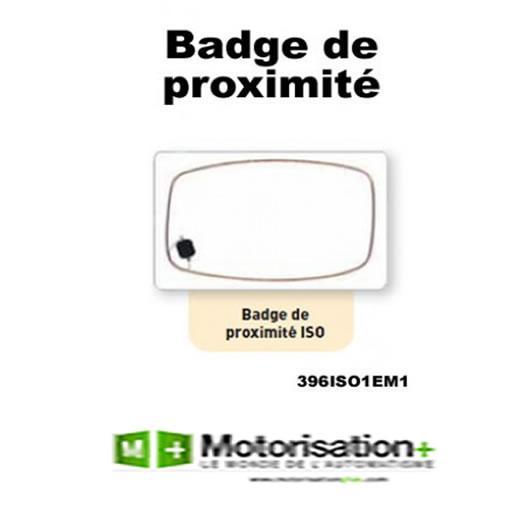 BADGE POUR LECTEUR DE PROXIMITÉ - SEWOSY - PC1000 396ISO1EM1