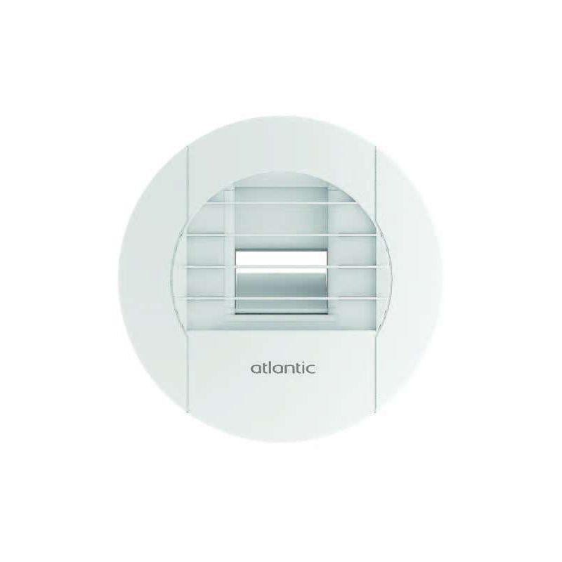 bouche vmc hygror glable salle de bain 10 45 bhb 542465 blanc 125 mm atlantic comparer les. Black Bedroom Furniture Sets. Home Design Ideas