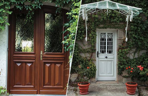 Portes battantes tous les fournisseurs porte simple for Porte a petit carreaux