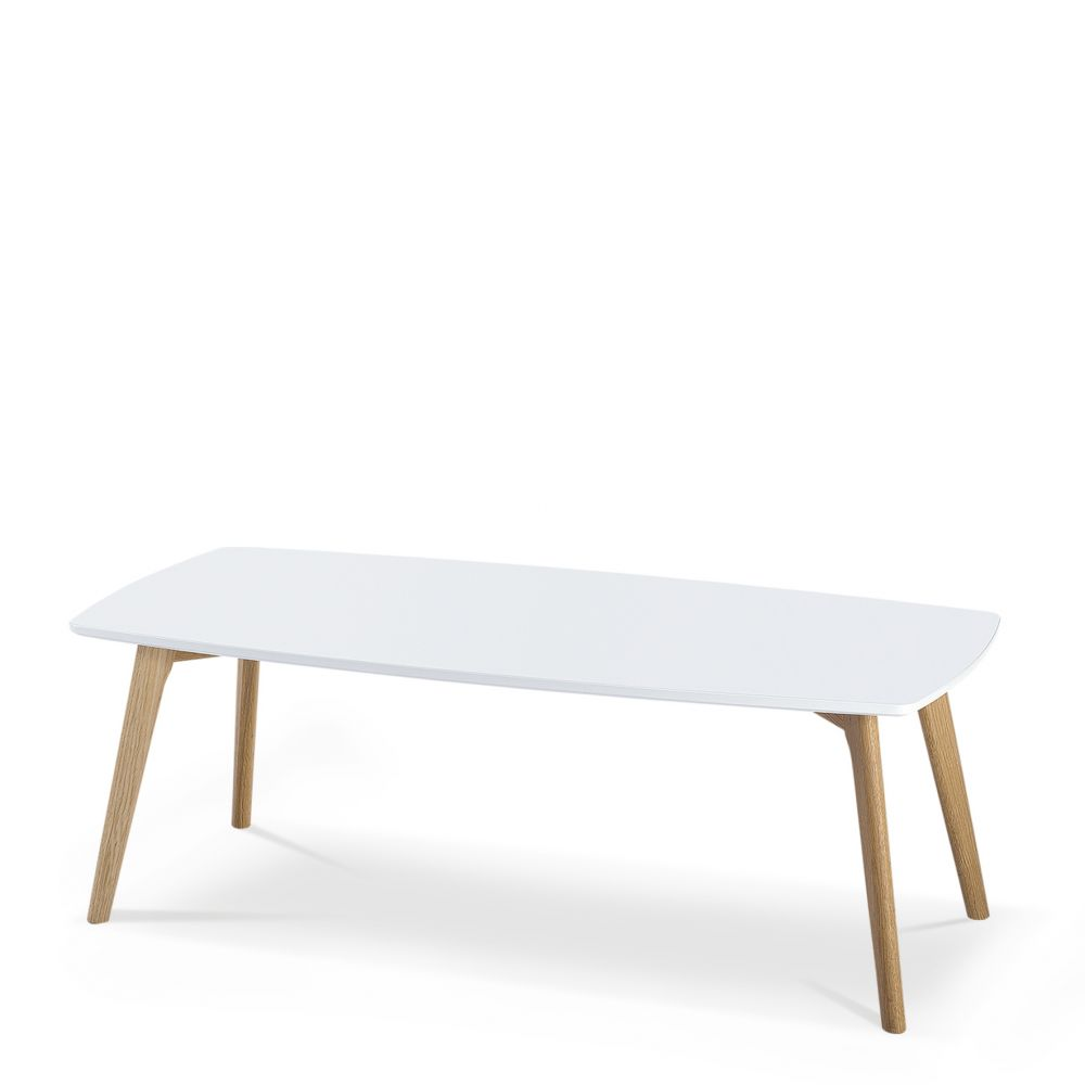 Table basse nordique rectangle 110x50cm skoll for Table basse style nordique