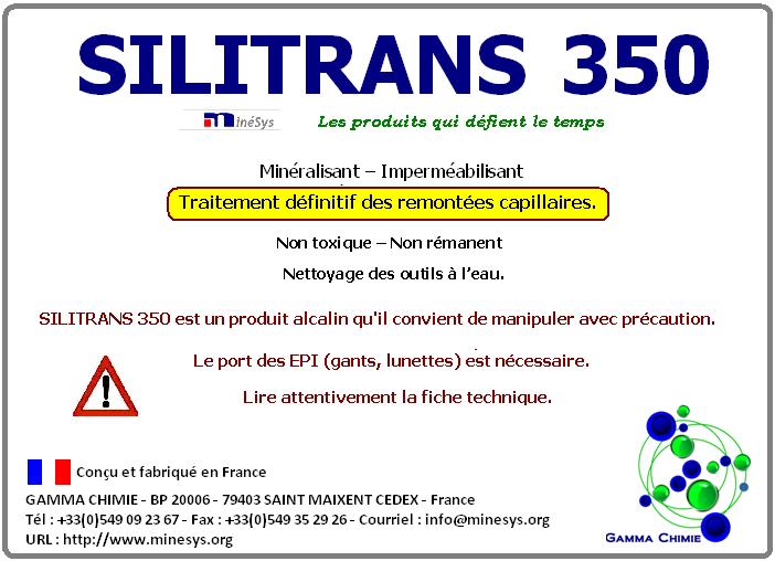 Minéralisant Imperméabilisant Silitrans 350