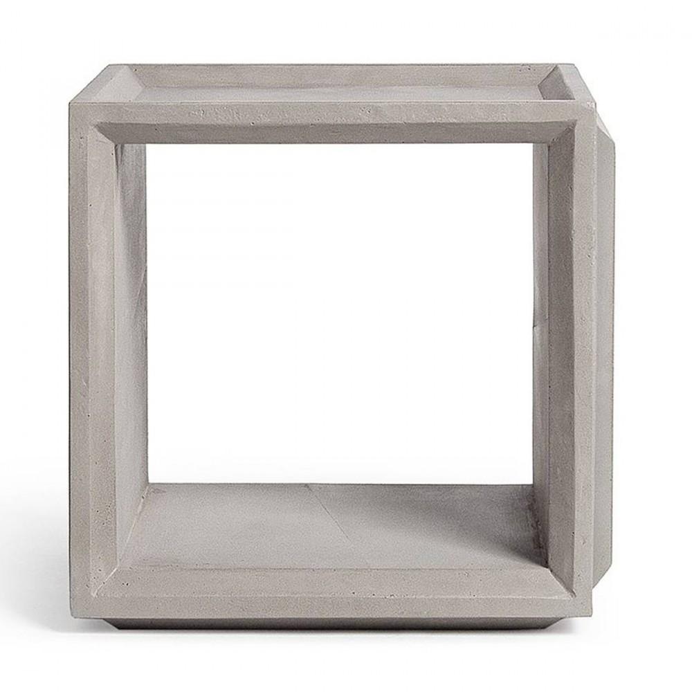 petits meubles de chambre cube beton plus s 059037. Black Bedroom Furniture Sets. Home Design Ideas