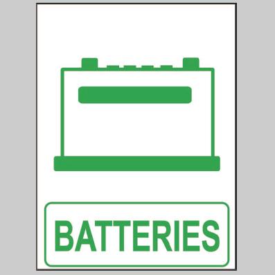 autocollant recyclage de batteries. Black Bedroom Furniture Sets. Home Design Ideas