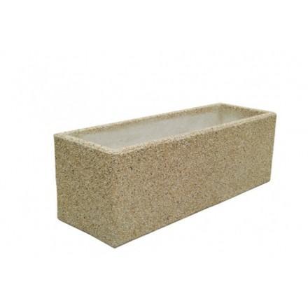 jardiniere en beton rectangulaire. Black Bedroom Furniture Sets. Home Design Ideas