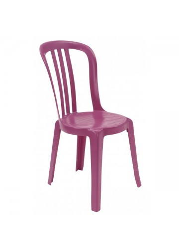 Sinotec produits chaises empilables for Chaise miami bistrot