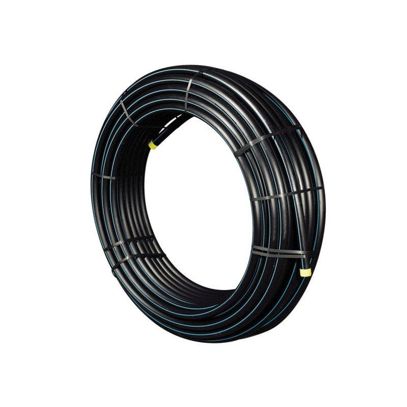 40 x 3,7 mm Tuyau PE 100 HD de 25 m PN16 flexible HDPE//eau potable Tuyau darrosage