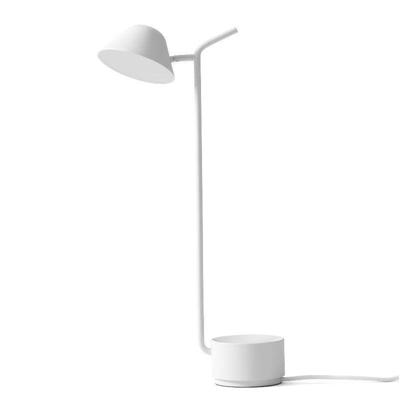 peek lampe poser orientable blanc h52cm lampe. Black Bedroom Furniture Sets. Home Design Ideas