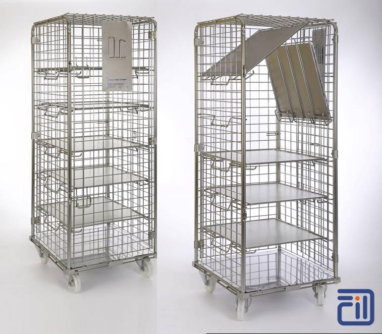 Roll containers vertical tous les fournisseurs roll for Prix d un conteneur vide