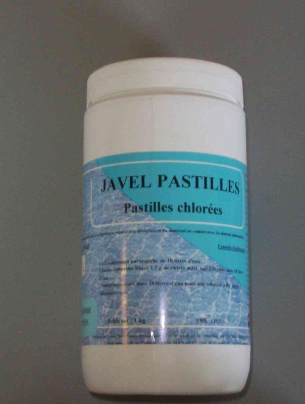 Pastille Eau de Javel Piscines Javel Pastilles