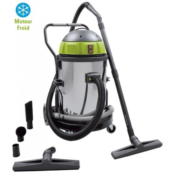 Aspirateur eau et poussière cuve 60 litres, monophasé 230 v ys2400/50