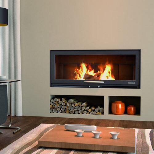 foyer et insert de chemin e comparez les prix pour. Black Bedroom Furniture Sets. Home Design Ideas