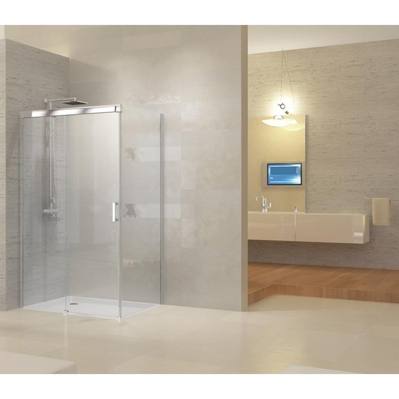 Paroi de douche en verre tous les fournisseurs de paroi for Porte coulissante transparente