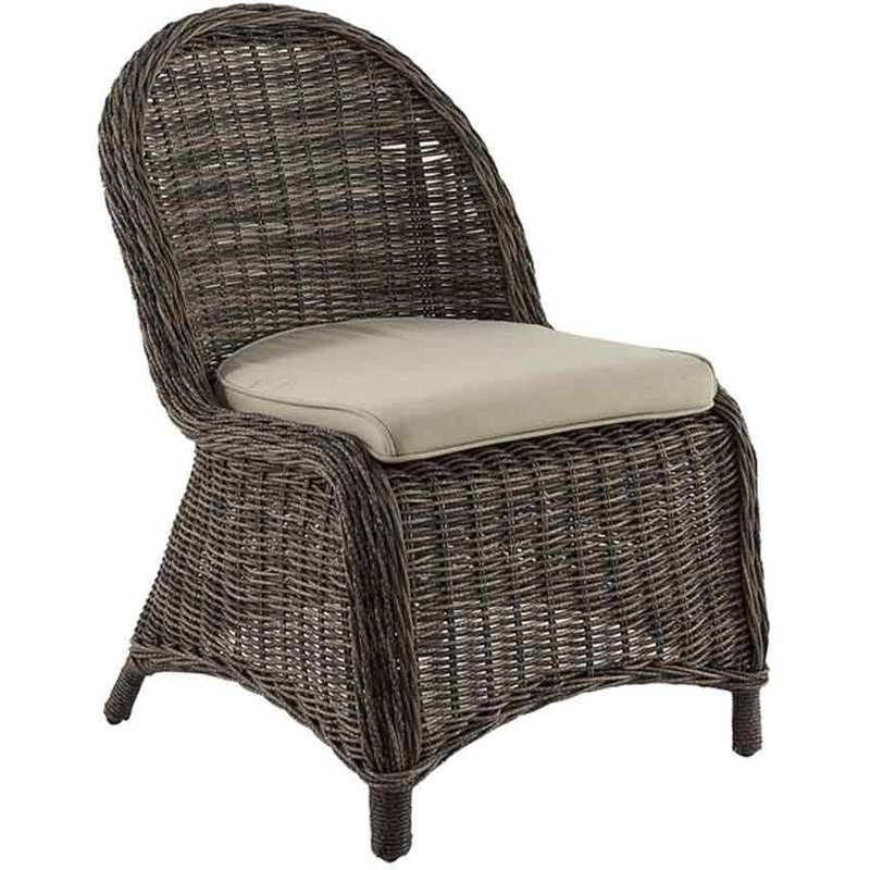 chaise de jardin en r sine tress e b tong hesperide comparer les prix de chaise de jardin en. Black Bedroom Furniture Sets. Home Design Ideas