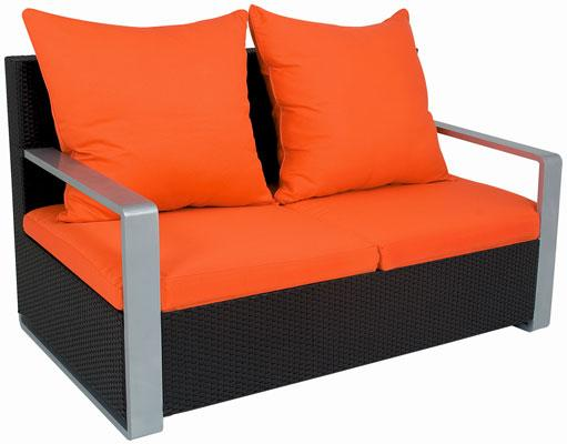 Fauteuil de jardin 2 places for Chaise 2eme main