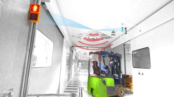 Securite pieton: tcs (traffic control system)