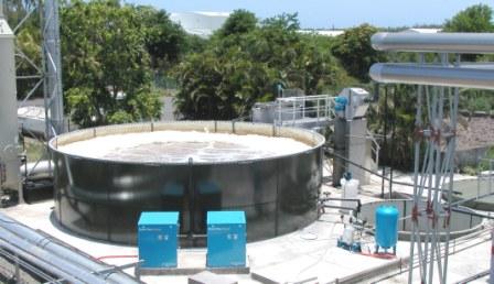 Stations de traitement des eaux usées industrielles