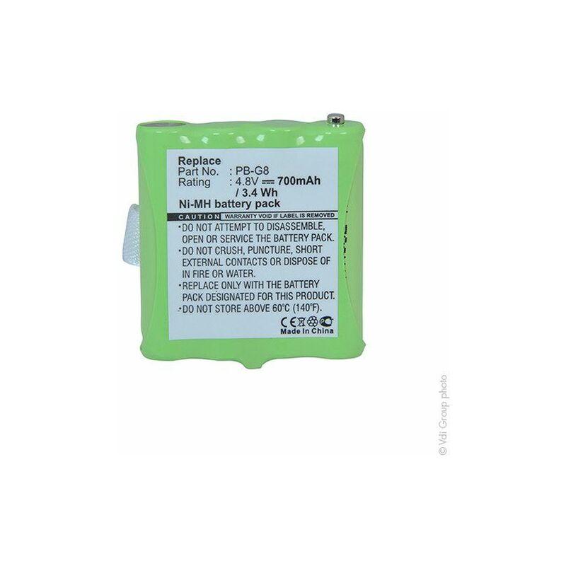 NX ™ - BATTERIE TALKIE WALKIE 4.8V 700MAH - PB-G8 ; PBG8