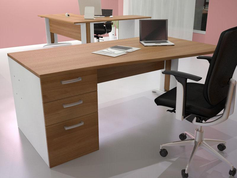 bureau avec caisson table de lit a roulettes. Black Bedroom Furniture Sets. Home Design Ideas