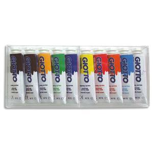 Gto bte/10 tube gouache 10ml ass 301900