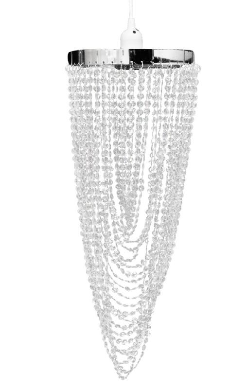 Lustre plafonnier suspendu lampe moderne cristal 59 cm 2402009