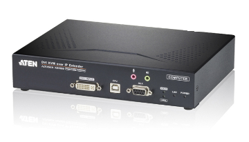 KE6900T - ÉMETTEUR KVM SUR IP AFFICHAGE SIMPLE DVI-I