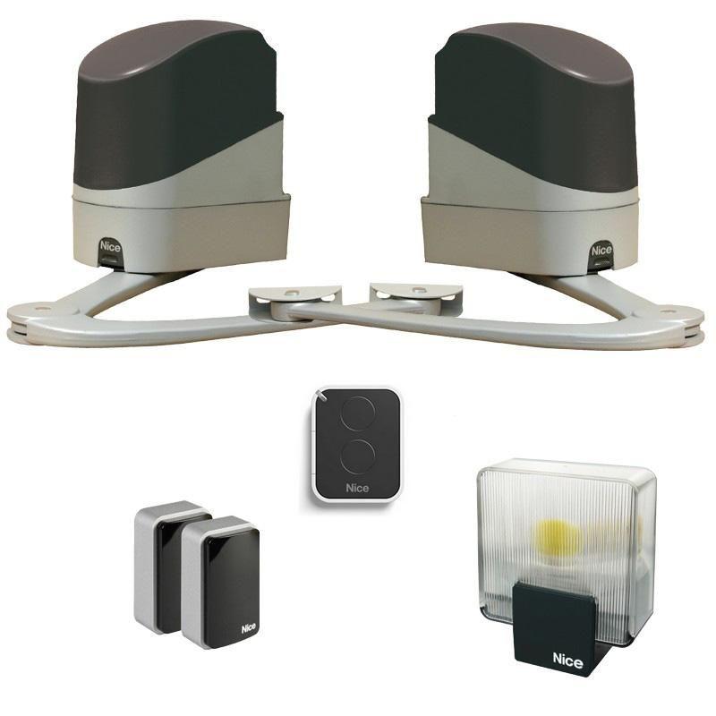 nice popkit 24v motorisation portail battant comparer les prix de nice popkit 24v motorisation. Black Bedroom Furniture Sets. Home Design Ideas