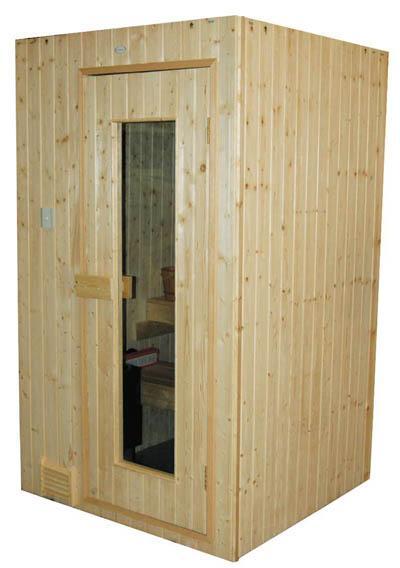 Cabines de sauna à poêle