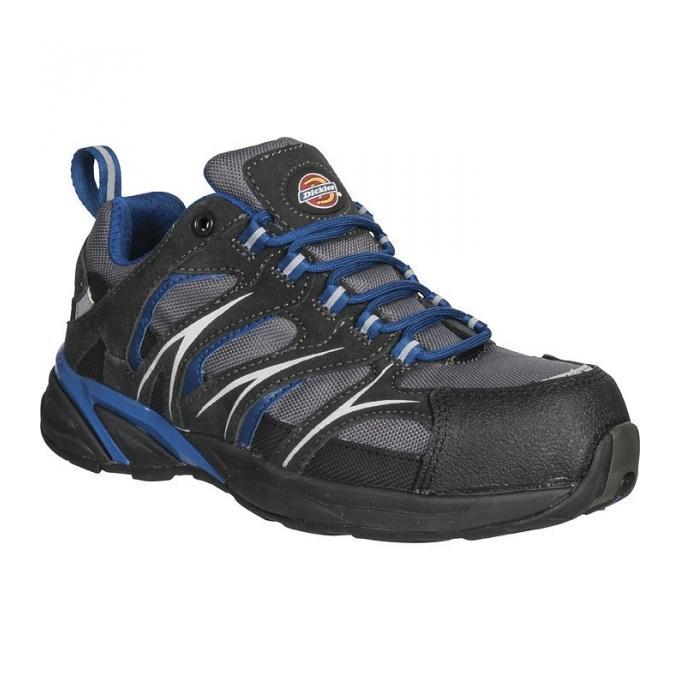 chaussure de s curit basse grise bleue haxtun dickies pointure 40 comparer les prix. Black Bedroom Furniture Sets. Home Design Ideas