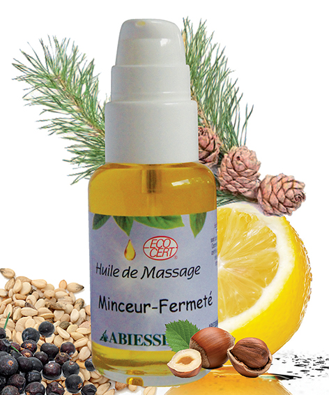 recette huile massage raffermissante.